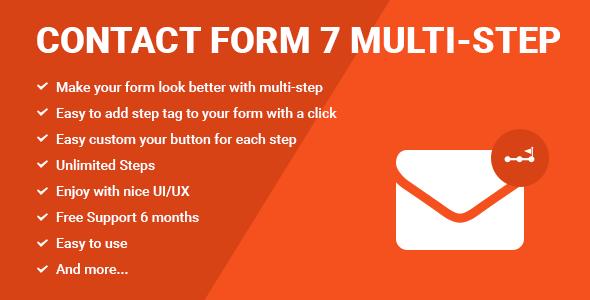 ایجاد فرم های چند مرحله ای با Contact Form 7
