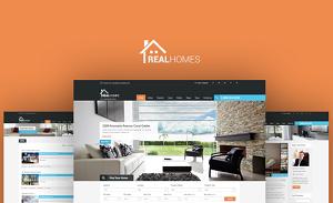 قالب وردپرس ثبت املاک Real Homes