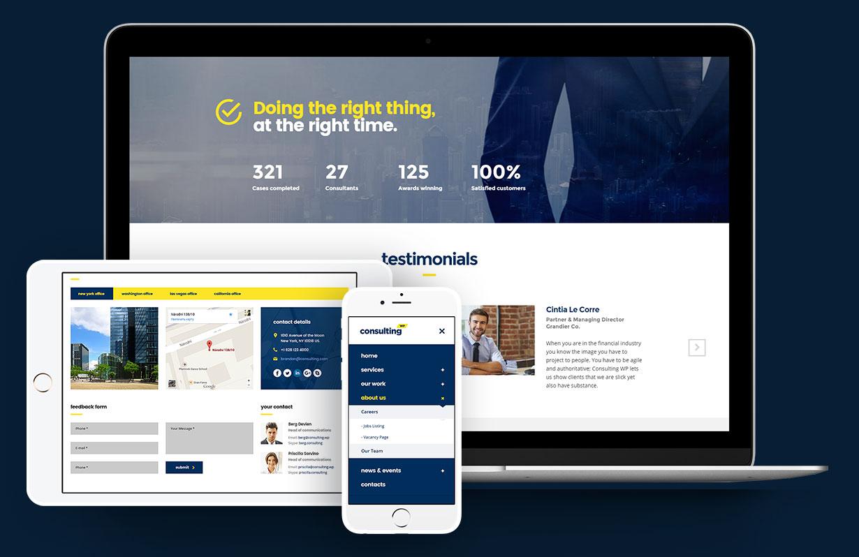 قالب Consulting   قالب ساخت و ساز   قالب سایت معماری و عمران   قالب شرکتی   قالب چند منظوره