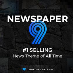 قالب وردپرس خبری روزنامه | Newspaper – نسخه ۹٫۶٫۱