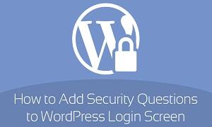 ایجاد پرسش و پاسخ امنیتی