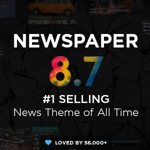 قالب وردپرس خبری روزنامه | Newspaper – نسخه ۸٫۷