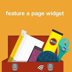 نمایش مطالب در سایدبار با افزونه Feature a Page widget