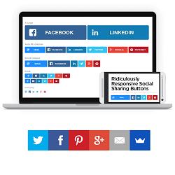 افزونه شبکه های اجتماعی | Social Share Buttons by Supsystic