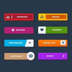 ساخت دکمه های دلخواه در وردپرس با افزونه ی Mango Buttons