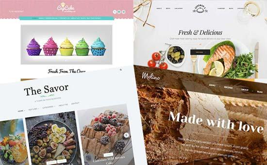 قالب برای وبلاگ غذایی