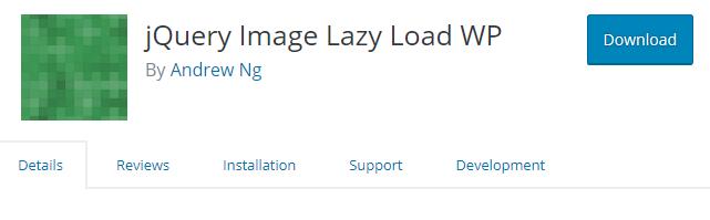 jQuery Image Lazy Load WP
