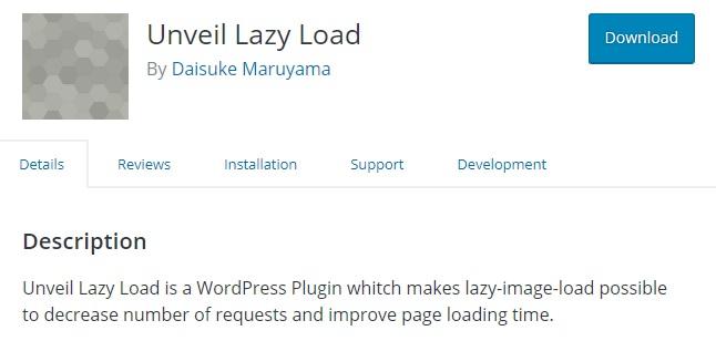 Unveil Lazy Load