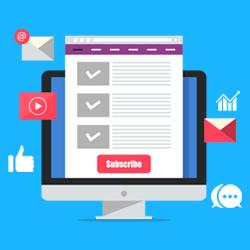 استفاده از شبکه های اجتماعی برای افزایش مشترکین ایمیلی