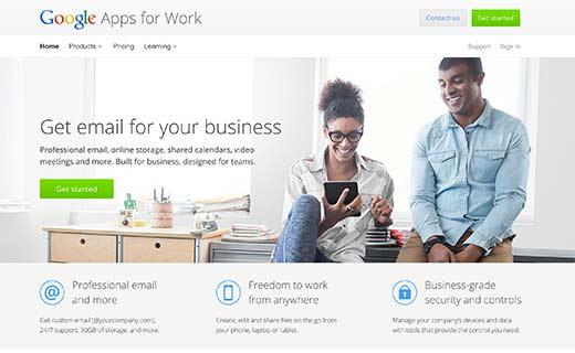 افزونه حرفهای وردپرس Google Apps for Work