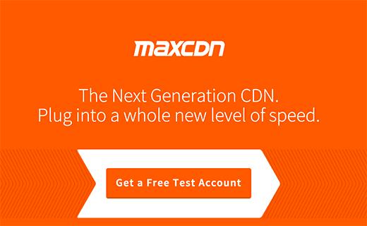 افزونه حرفهای وردپرس MaxCDN