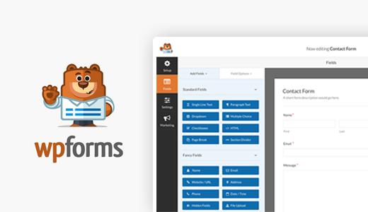 افزونه حرفهای وردپرس WPForms
