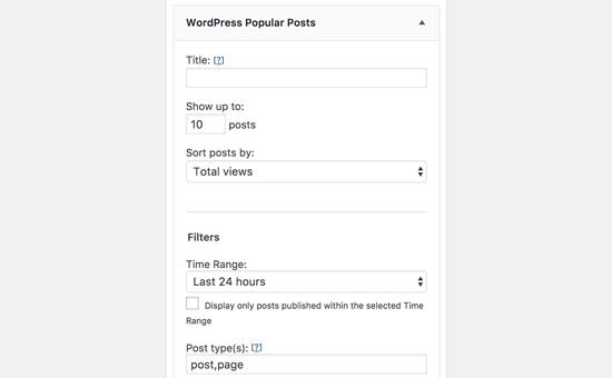 افزونه مطالب محبوب وردپرس WordPress Popular Posts
