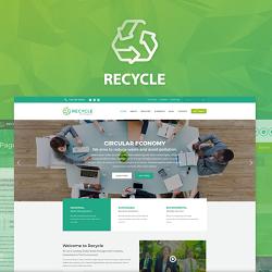 قالب وردپرس کسب و کار و چند منظوره | Recycle