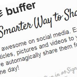 آموزش زمان بندی نوشته های وردپرس برای انتشار در شبکه های اجتماعی با BufferApp
