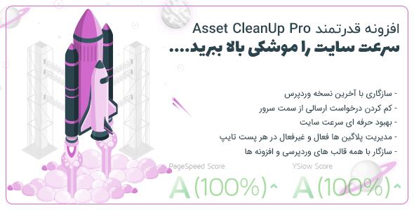 افزونه Asset CleanUp Pro | افزایش سرعت بارگذاری سایت و کم کردن حجم سایت