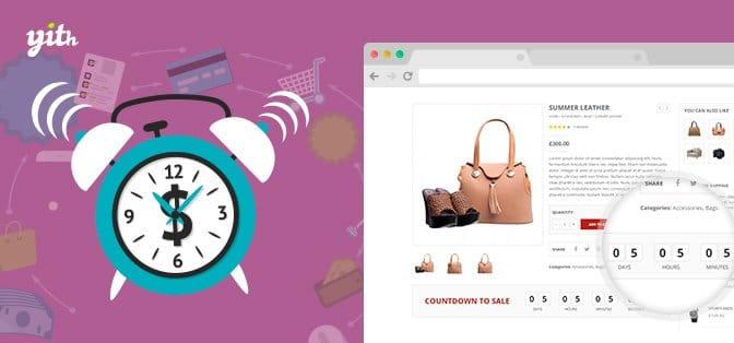 افزونه YITH WooCommerce Product Countdown | افزودن تایمر به محصول ویژه | نمایش شمارشگر معکوس در محصول ویژه | نمایش زمان اتمام محصول ویژه