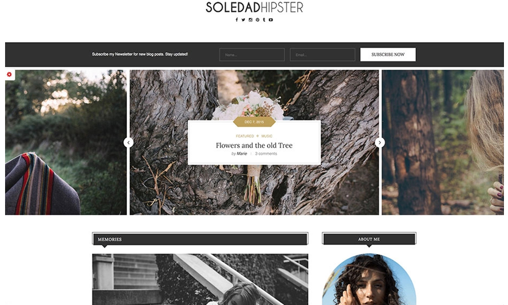 Soledad (سولداد)   زیباترین قالب های وردپرس