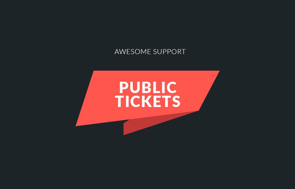 افزونه notifications برای awesome support